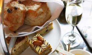 The Court Bar: Afternoon Tea For Two, £14 at The Court Bar in the 4* Hilton Maidstone (46% Off)