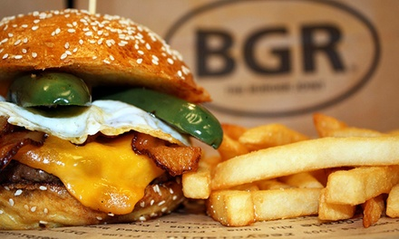 $10 for $18 Worth of Food and Drink for Two or More at BGR-The Burger Joint