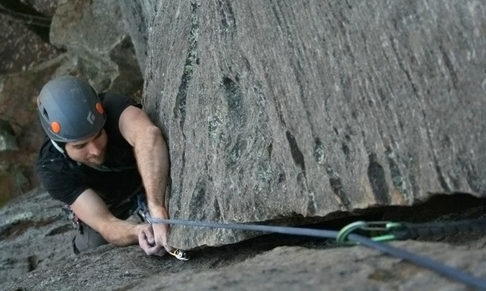 Kentucky Rock & Adventure Guides - Pine Ridge: Five-Hour Rock-Climbing Trip for One, Two, or Four from Kentucky Rock & Adventure Guides (Up to 70% Off)