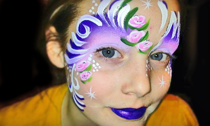 Mystical Masks - Airdrie: $45 for One Hour of Face Painting for Up to 12 People from Mystical Masks ($100 Value)
