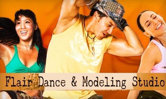 Flair Dance Studio - 1: $20 for Five Zumba Classes at Flair Dance Studio