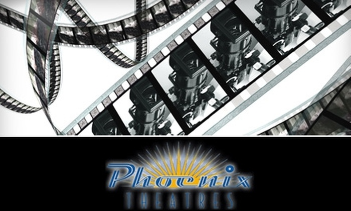 Phoenix Theatres - Multiple Locations: $8 for Two Movie Tickets to Phoenix Theatres (Up to $23.50 Value)