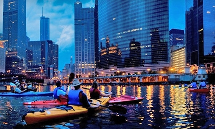 Image result for kayak tours chicago