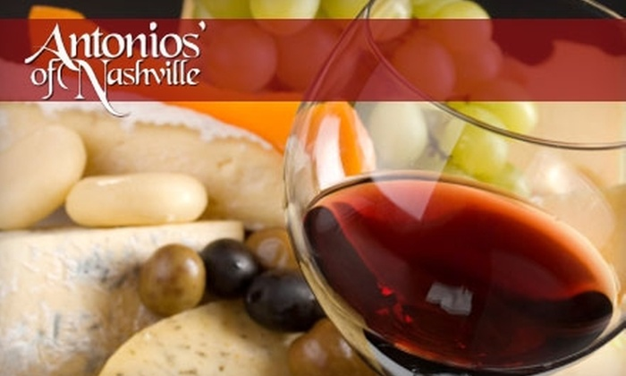 Antonios' of Nashville - South Harpeth Area: $20 for $40 Worth of Italian Upscale Fare and Drinks at Antonios' of Nashville
