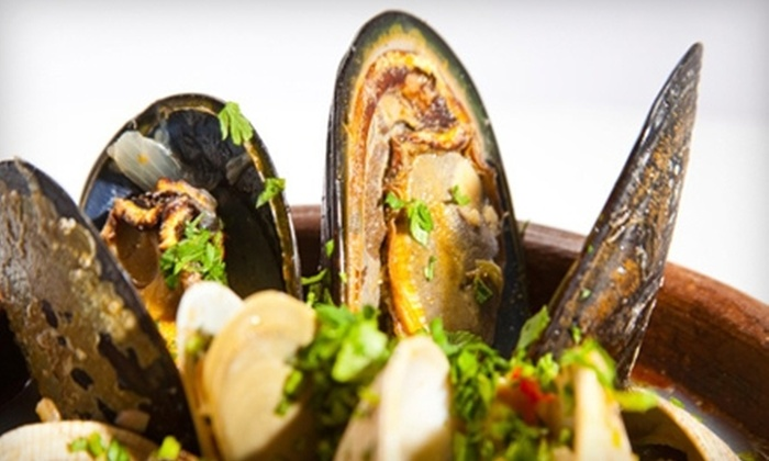 Bistro at Player's - Wellington: $12 for $25 Worth of American and French Fare and Drinks at Bistro at Player's in Wellington