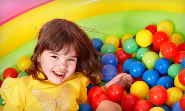 The Fun Factory - Kelsey Woodlawn: $10 for Value-Pak Admissions for Two to The Fun Factory ($21.50 Value)