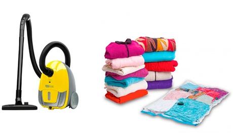 2 o 4 bolsas para guardar tu ropa al vacío desde 12,90 €