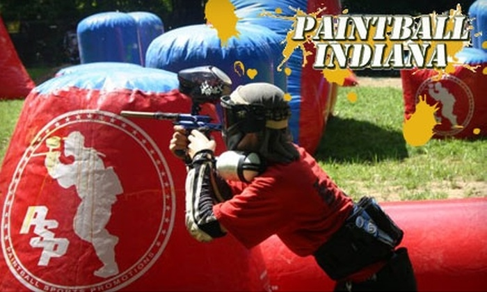 Paintball Indiana - Jefferson: $23 for Admission, Gear, and 500 Paintballs at Paintball Indiana in Martinsville ($51 Value)