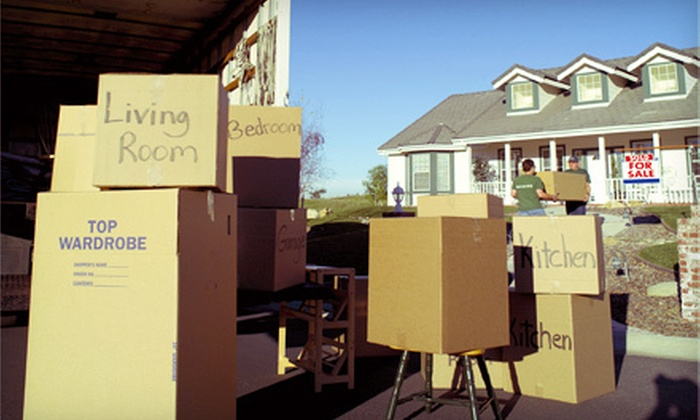 Here To There Movers - Blue Ash: $99 for $200 Worth of Moving Services from Here To There Movers