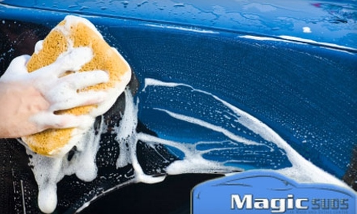 Magic Suds Car Wash and Detail Center - Orlando: $7 for a Gold Wash ($18 Value) or $11 for a Platinum Wash ($22 Value) at Magic Suds Car Wash and Detail Center