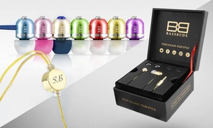 BassBuds: In-Ear Swarovski Headphones with Optional Engraving from BassBuds Up to 81% Off)