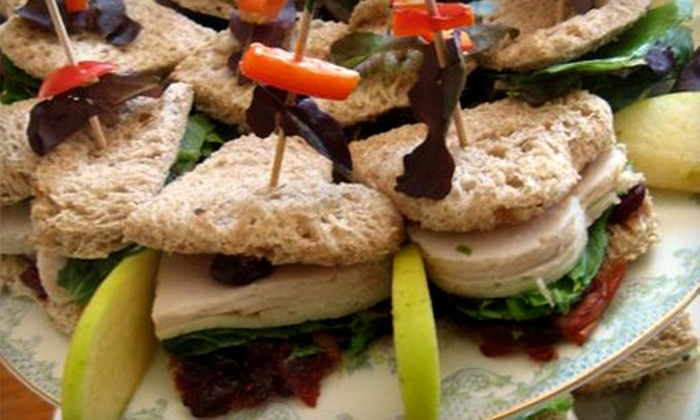 Dragonfly Artisan Tea Cottage - Sylvania: Lunch for Two or High Tea with Scones and Finger Sandwiches for Two or Four at Dragonfly Artisan Tea Cottage in Sylvania