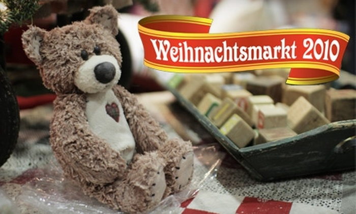 Weihnachtsmarkt - Downtown New Braunfels: $5 for a Three-Day Pass to Weihnachtsmarkt Christmas Market (Up to $12 Value)