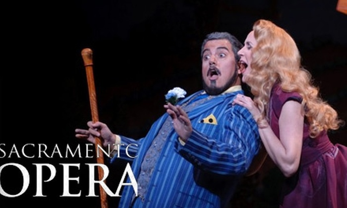 "Sacramento Opera - East Sacramento: Ticket to the Sacramento Opera's Production of ""Orlando"" (Up to a $78 Value). Choose from Three Sections."