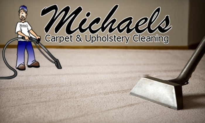 Michael's Carpet Cleaning - Louisville: $40 for Two Areas of Professional Carpet Cleaning from Michael's Carpet Cleaning ($85 Value)