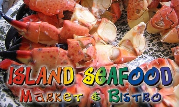 Island Seafood Market - St. Petersburg: $35 for Fresh Seafood Party Platter at Island Seafood Market in St. Petersburg ($75 Value)