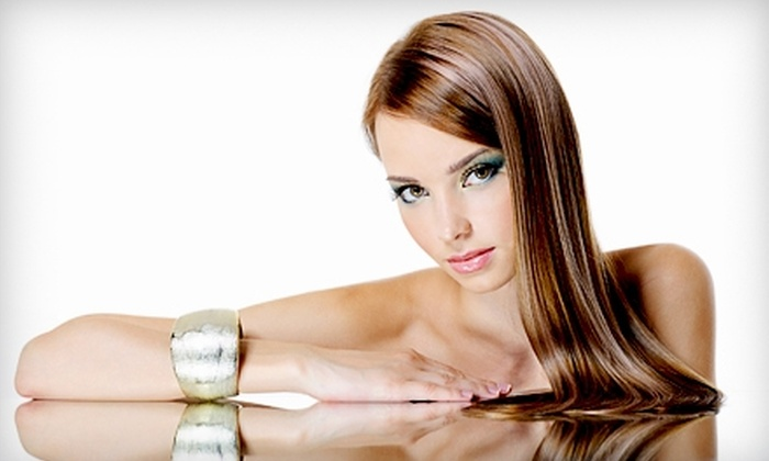 Stile Salon & Spa - Easton: Salon and Spa Services or Brazilian Blowout Zero at Stile Salon & Spa