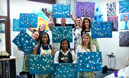 2-Hour Painting Class for 1 Person (a $25 value) - Creatively Yours in Atlanta