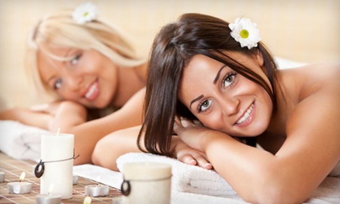 Ja Spa & Fitness - Marcellus: Massage Package for Two at Ja Spa & Fitness in Marcellus (Up to 56% Off). Three Options Available.