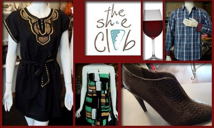 The Shoe Club - Uptown Broadway: $35 for $70 Worth of Footwear and Style Accessories at The Shoe Club