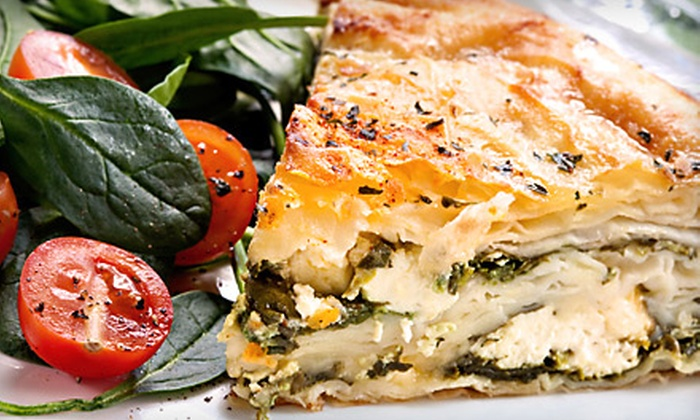 Stratos Greek Taverna - Preston Hollow: Greek Fare for Brunch, Lunch, or Dinner at Stratos Greek Taverna
