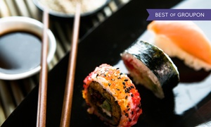 Koto Sushi Lounge: CC$28 for CC$50 Worth of Japanese Cuisine and Drinks at Koto Sushi Lounge