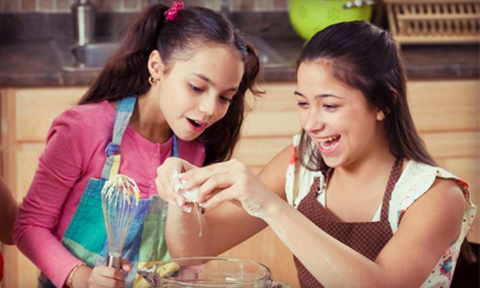 A Kid's Kitchen - Naperville: Children's Culinary Birthday Party for Up to Six, or $30 for $60 Toward a Cooking Class at A Kid's Kitchen