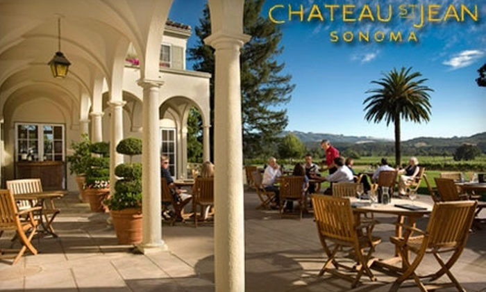 Chateau St. Jean - Sonoma: $35 for Private VIP Reserve Wine Tasting and Small Bites for Two ($70 Value) at Chateau St. Jean in Kenwood