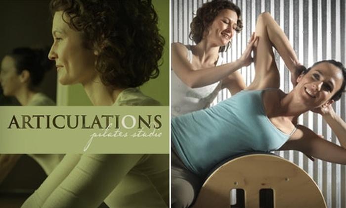 Articulations Pilates Studio - Magnolia Center: $36 for Four Mat Classes at Articulations Pilates Studio in Riverside ($72 Value)
