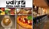 Udi's Pizza Café Bar - Olde Town Arvada Area: $15 for $35 Worth of Artisanal Pizza at Udi's Pizza Café Bar