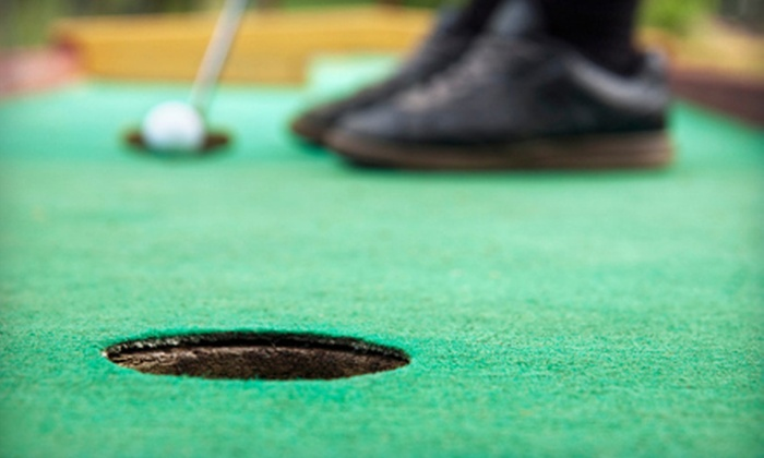 Malt-Tees Malts and Mini Golf - Adventure Gardens Mini Golf: $17 Mini Golf Outing with Ice Cream and Drinks at Malt-Tees Malts and Mini Golf in Richfield (Up to $38 Value)