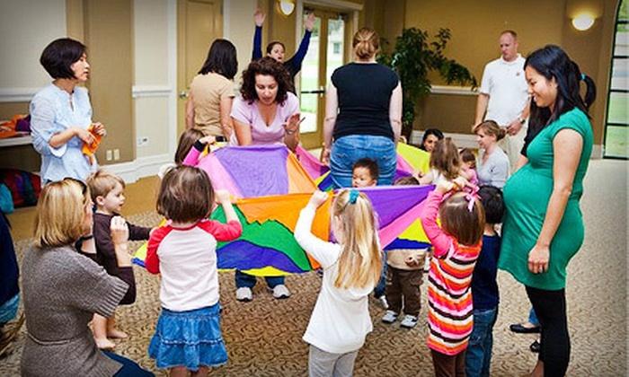 KinderJam - Tierra Humida: One Month of Preschool Classes for Infants or Children Up to Age 5 at KinderJam (51% Off)