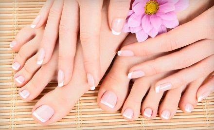 Demi Mani-Pedi (a $68 value) - Nu Bare Laser & Skincare  in Calgary