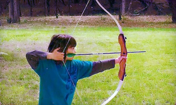 Bullseye Shooting Sports - River Chase: Private Archery Lesson or Archery Party at Bullseye Shooting Sports in New Braunfels (Up to 60% Off)