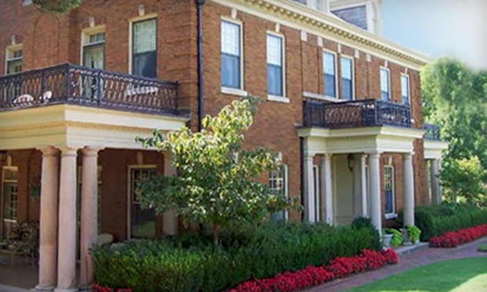 Kennedy Mansion Bed and Breakfast - Gilcrease Hills: $189 for One-Night Stay, Couples Massage, and Breakfast in Bed at the Kennedy Mansion Bed and Breakfast (Up to $425.45 Value)