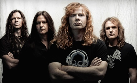 Gigantour on Sat., Feb. 25 at 6:30PM: Main-Floor Concourse, Sections 1 or 7, Rows 12-35 - Gigantour featuring Megadeth with Motorhead, Volbeat, and Lacuna Coil in Phoenix