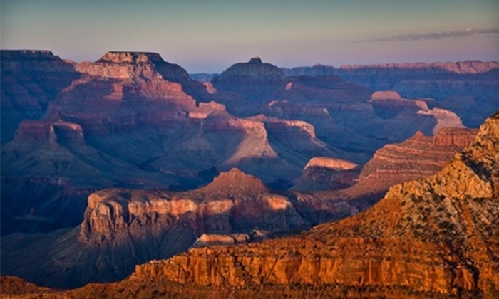 "Grand Canyon Tour & Travel - The Strip: $115 for a Grand Canyon South Rim Bus Tour and One Ticket to See ""The Rat Pack is Back"" from Grand Canyon Tour & Travel (Up to $242.49 Value)"