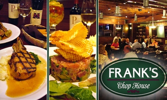 Frank's Chop House - Afton Oaks/ River Oaks: $20 for $40 Worth of Upscale Comfort Cuisine at Frank's Chop House