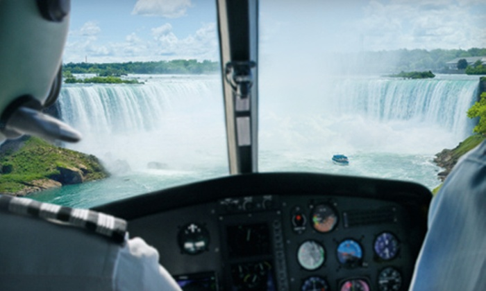 National Helicopters Inc. - Niagara District Airport Main Terminal: $99 for a Niagara Helicopter Adventure Tour from National Helicopters Inc. in Virgil (Up to $168.37 Value)