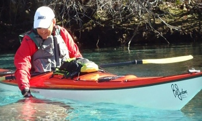 Bill Jackson's Shop for Adventure - Pinellas Park: $34 for Introductory Lesson in Recreational or Sea Kayaking at Bill Jackson's Shop for Adventure in Pinellas Park ($68 Value)
