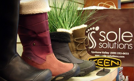 $30 Worth of Shoes, Socks, and Insoles - Sole Solutions in Spokane Valley