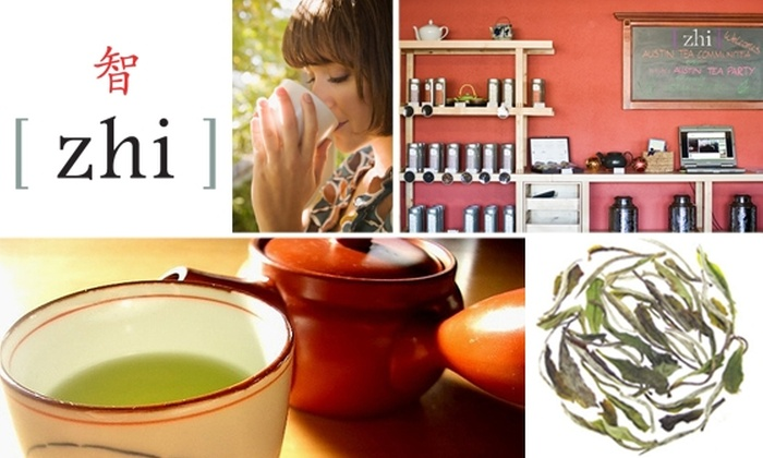 Zhi Tea Gallery Austin - Multiple Locations: $25 Worth of Organic, Fair-Trade Teas at Zhi Tea Gallery