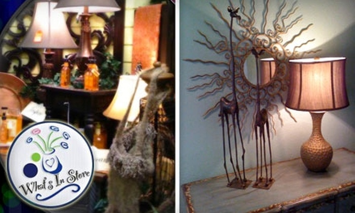 What's In Store - Downtown Colorado Springs: $12 for $25 Worth of Gifts, Accessories, & More at What's In Store