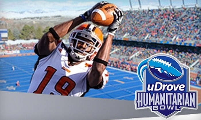 Humanitarian Bowl - Southeast Boise: Tickets to the Humanitarian Bowl at Bronco Stadium. Three Seating Options Available.