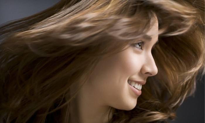 MiLenka Organic Hair Studio - Stuart: Cut Package or Cut, Condition, and Partial or Full Highlights at MiLenka Organic Hair Studio in Stuart (Up to 64% Off)