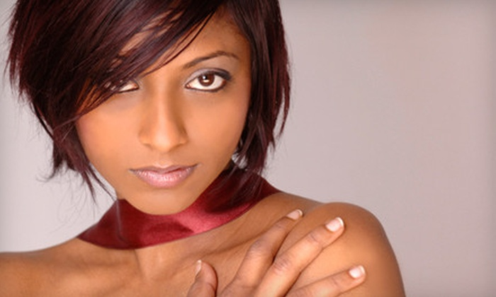 Revive Salon - Newark: Haircut and Style or Color Package with Cut at Revive Salon in Newark (Up to 61% Off)