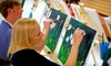 Artistic Abandon - Raleigh - North Raleigh: Two-Hour BYOB Painting Class for One, Two, or Four at Artistic Abandon (Up to 53% Off)