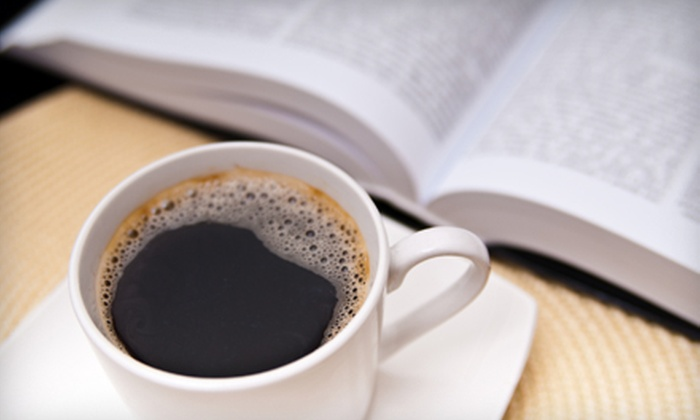 Characters Fine Books and Coffee Bar - Marpole: $10 for $20 Worth of Books and a Small Coffee or Tea at Characters Fine Books and Coffee Bar (Up to $21.87 Value)