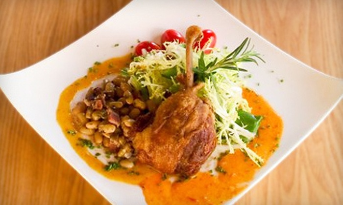 The Wine House - Fairfax: $20 for $40 Worth of Franco-American Fare at The Wine House in Fairfax