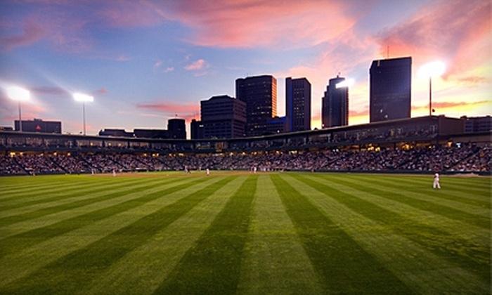 Winnipeg Goldeyes - Downtown Winnipeg: $20 for Four Tickets to Winnipeg Goldeyes vs. Fargo-Moorhead RedHawks on Monday, May 30, at 7 p.m. ($40 Value)